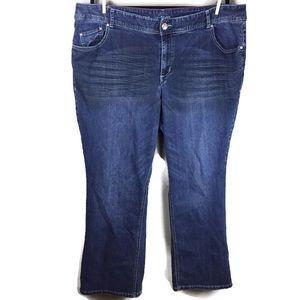 Lane Bryant Jegging 5 Pocket Jeans Size 24